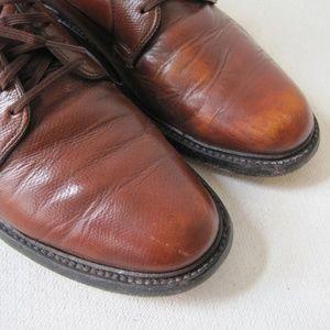Shoes - BILTRITE Shoes Sz 8.5 Mens Derby Leather Brown VTG